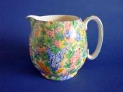 Large Royal Winton 'Somerset' Chintz Globe Jug c1936